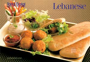 Tarla Dalal Lebanese Cookbook