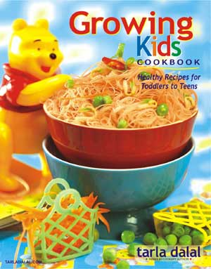 Tarla Dalal Growing Kids Cookbook