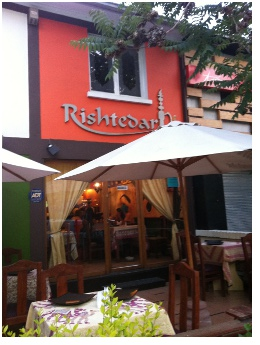 Review of Rishtedar Indian Restaurant in Santiago