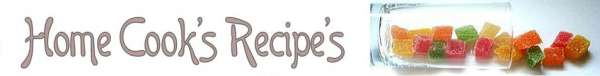Home Cook's Recipe's